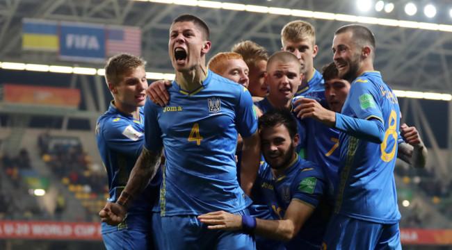 Молодежная сборная Украины пробилась в финал Чемпионата мира по футболу