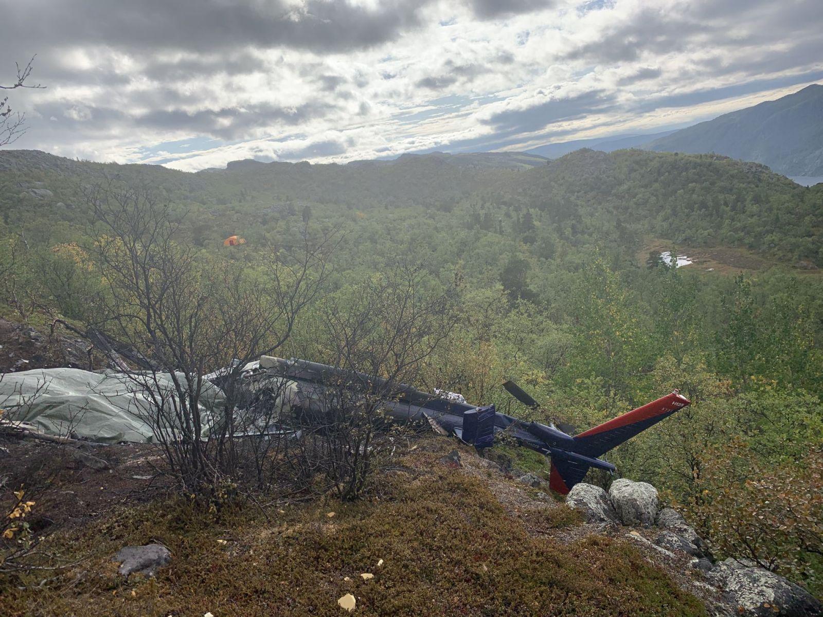 Авиакатастрофа в Норвегии: не выжил никто
