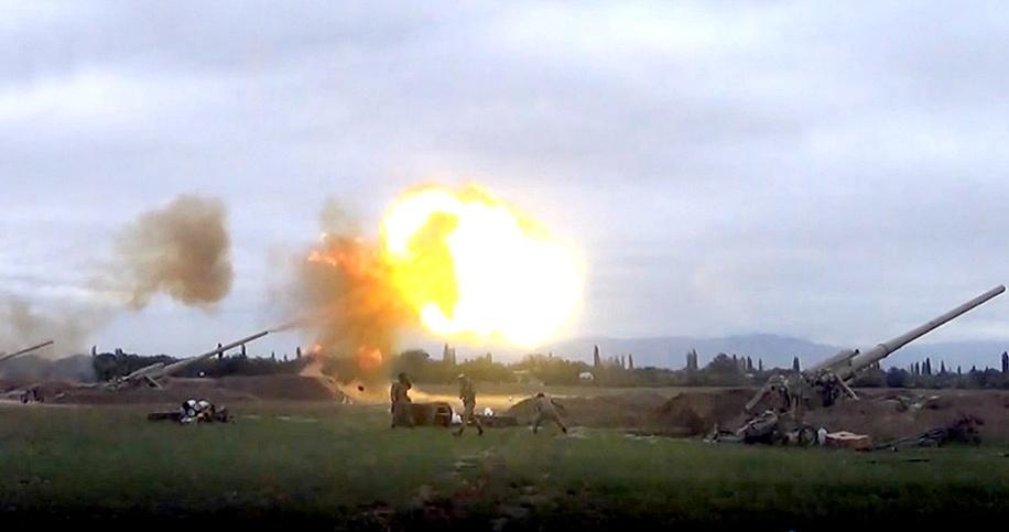 Война в Нагорном Карабахе: Министерство обороны Армении заговорило о дес...
