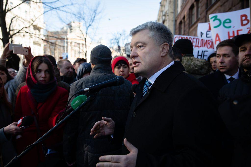 Допрос Порошенко в ГБР: подозрений ему не вручили