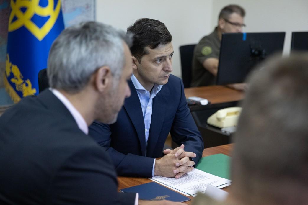 Зеленский и Хомчак обсудили ситуацию в ВСУ