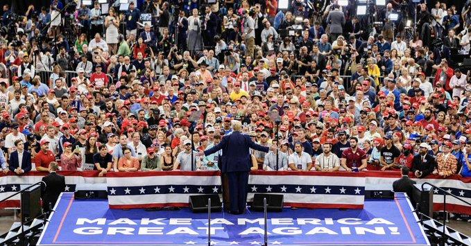 Трамп официально объявил о старте предвыборной кампании