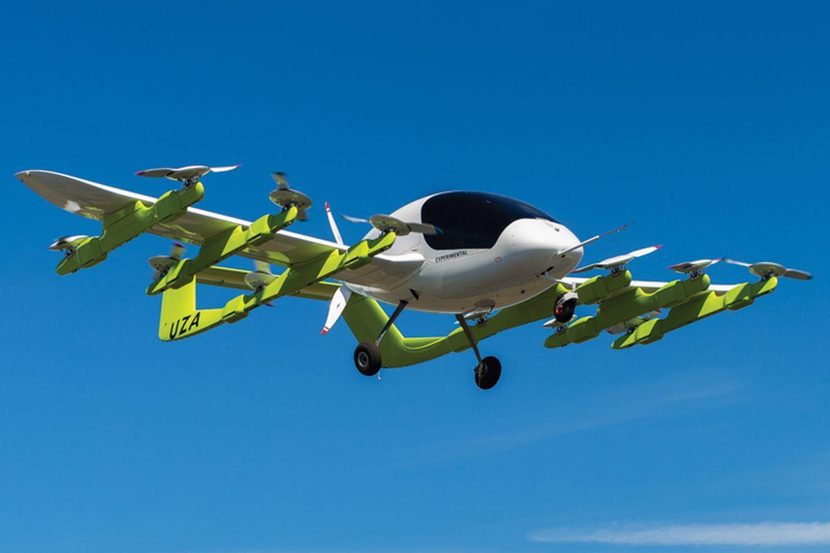Boeing поможет Kitty Hawk разработать летающее такси