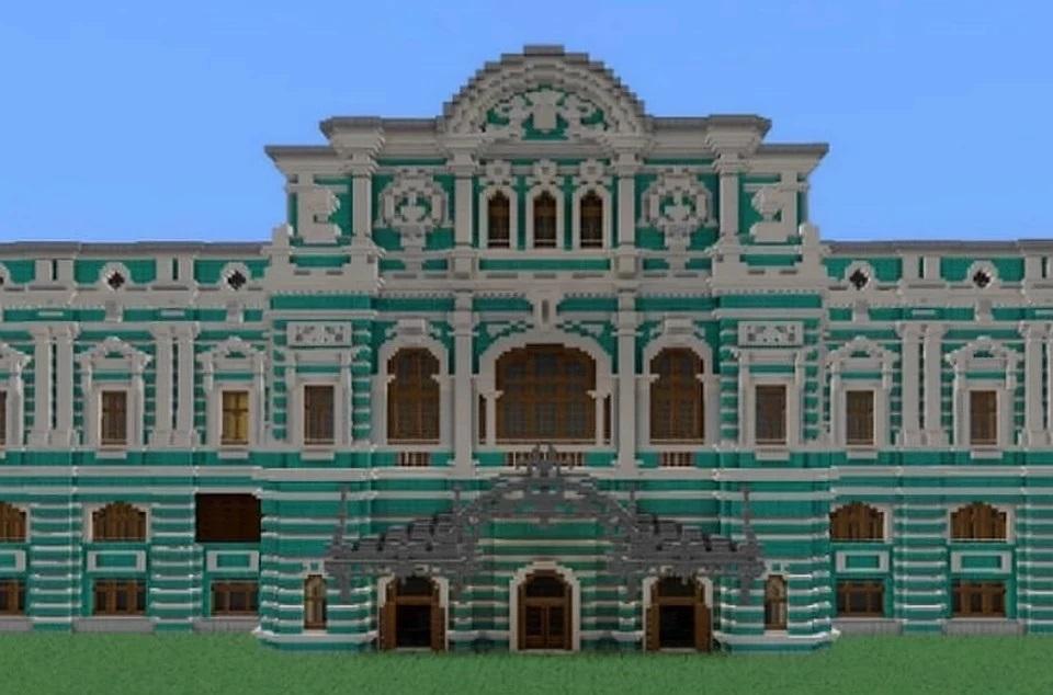 """В Петербурге театр дал Minecraft-спектакль """"Вишневый сад"""""""