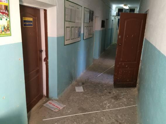 В Белой Церкви неизвестные взорвали райгосадминистрацию