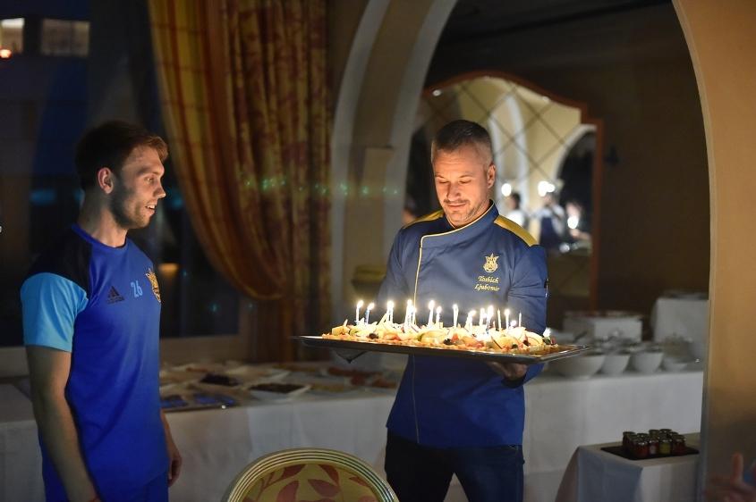 Повар футбольной сборной Украины раскрыл секреты кулинарных предпочтений...