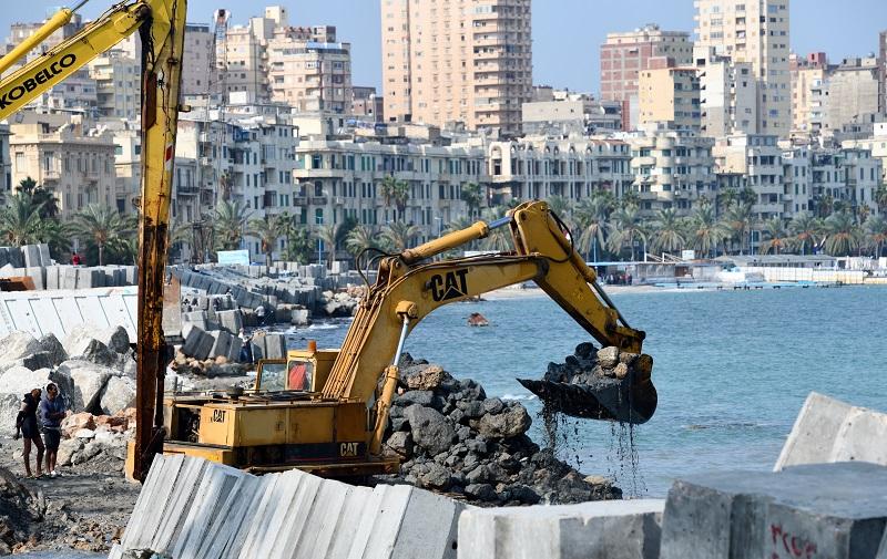 плотина, Египет, Александрия, глобальное потепление, фото
