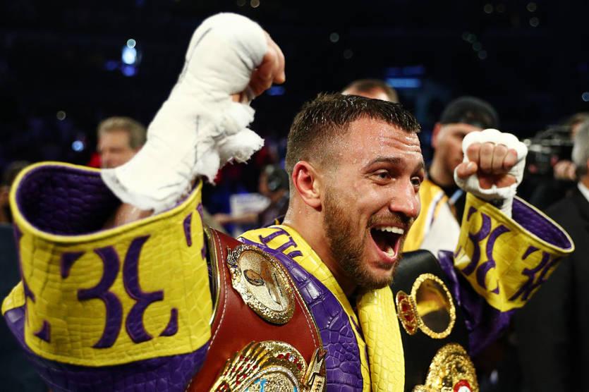 Ломаченко признан лучшим боксером-легковесом по версии Boxingtalk