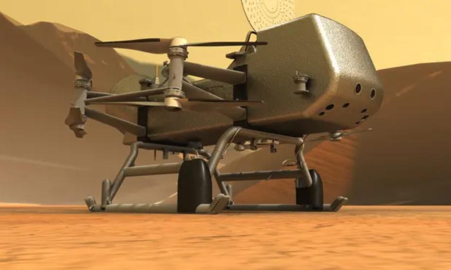 Пандемия затмила Титан. NASA отложило запуск аппарата Dragonfly на спутн...