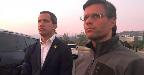 В Венесуэле военные освободили из-под ареста одного из лидеров оппозиции