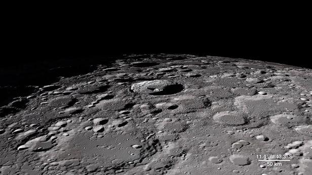 Минувшей весной на Луне могла появиться жизнь
