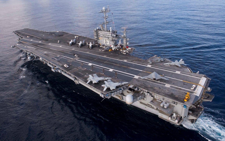 Ударная группа ВМС США отправится в Средиземное море