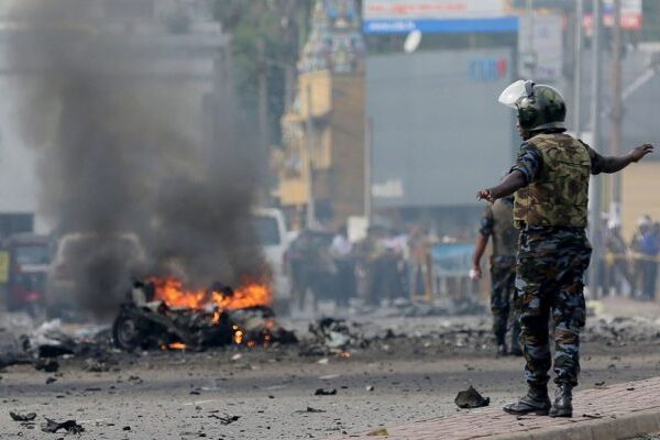 На Шри-Ланке провели антитеррористическую операцию: прогремело еще три в...