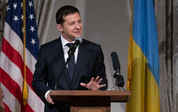 """Зеленский ожидает очень """"крутых отношений"""" с США"""