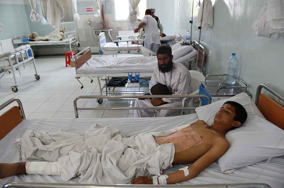 В Афганистане от авиаудара США пострадал госпиталь