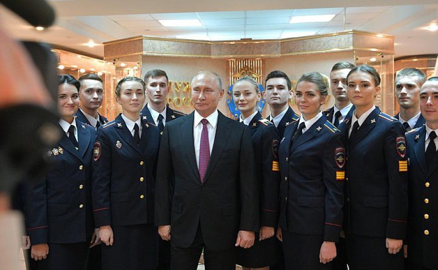 Путин расширит географию отпусков российских силовиков