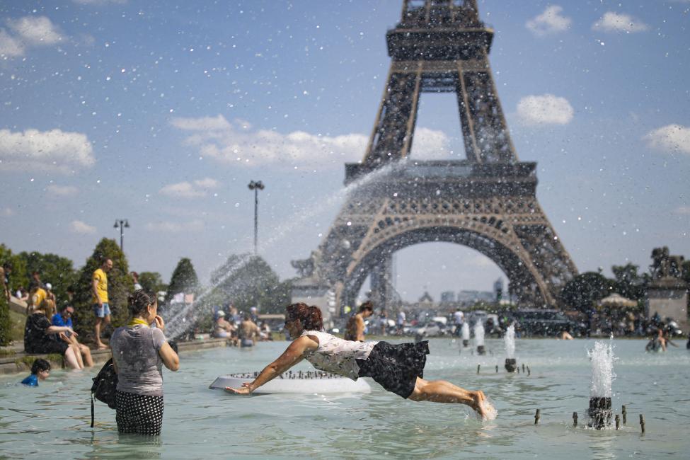 В этом году летняя жара убила во Франции 1,5 тысячи человек