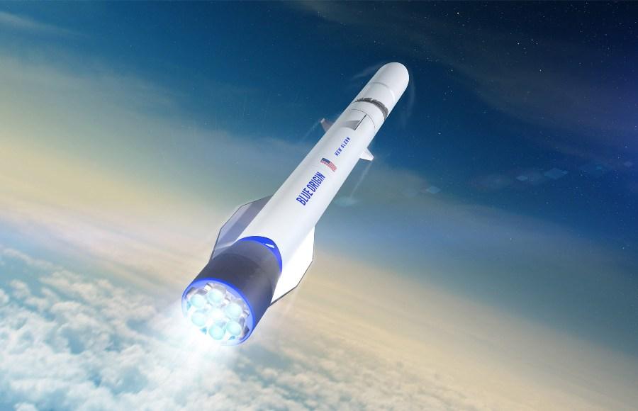 """Blue Origin оживит наследие космической программы """"Аполлон"""""""