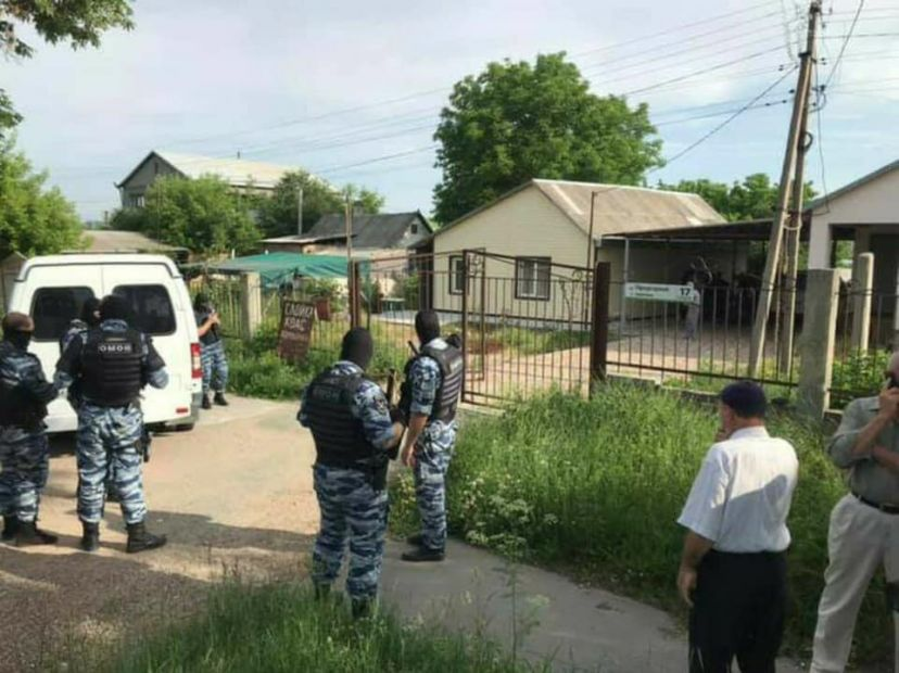 В Симферополе арестовали крымского татарина Ризу Омерова