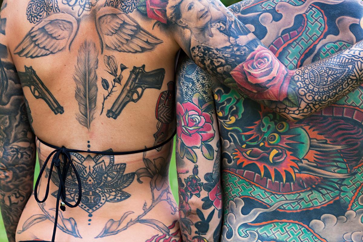 Интимный дневник для всех. До каких частей тела  добралась мода на тату...