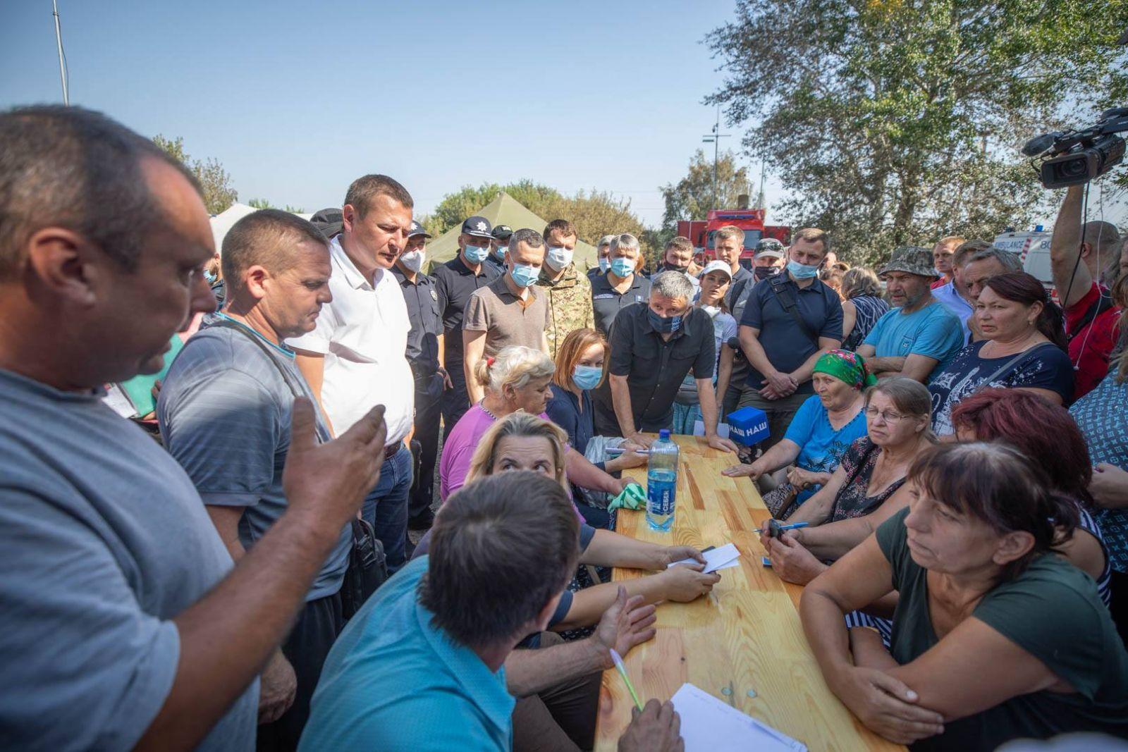 """Аваков о пожарах на Луганщине: """"Нам не хватает технических возможностей"""""""