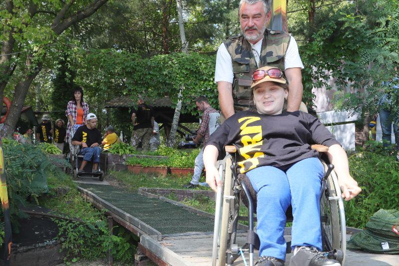 В Киеве нет ни одного специализированного места для инвалидов-колясочник...