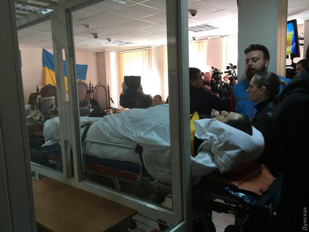 В Одессе избрали меру пресечения одному из подозреваемых в покушении на...