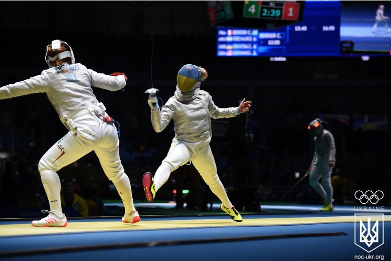 Олимпиада в Рио: украинские шпажистки вышли в 1/4 финала