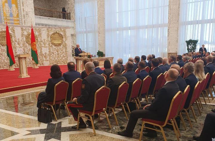 МИД Украины: церемония инаугурации не сделает Лукашенко легитимным прези...