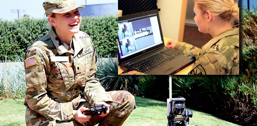 В США военные роботы смогут вести диалог с солдатами