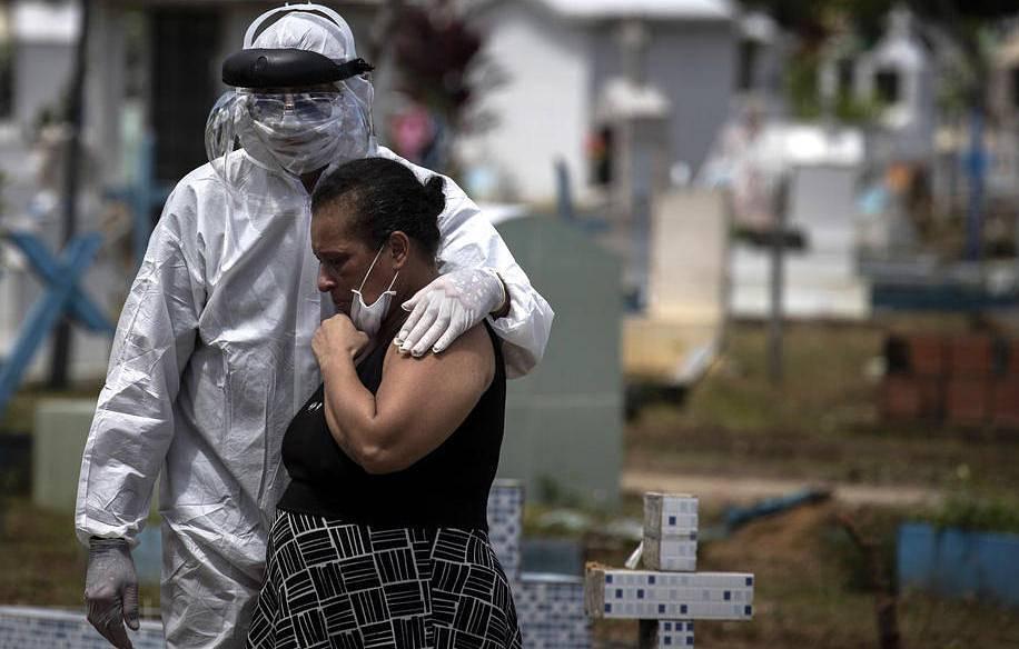 Статистика коронавируса в мире на 20 июня: в Бразилии заболели COVID-19...