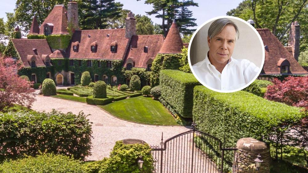 Дизайнер Томми Хилфигер продает свой сказочный замок в Коннектикуте