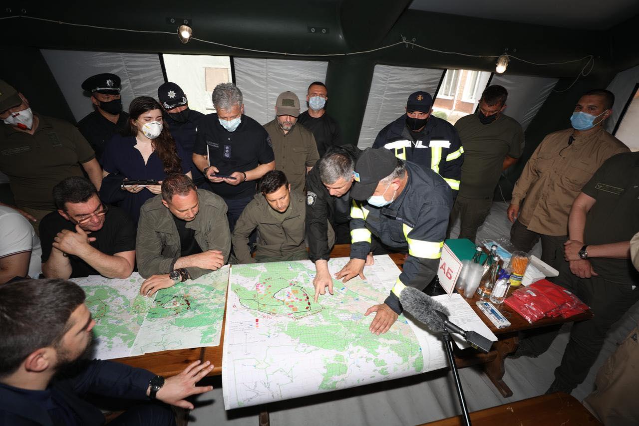 Обстрел боевиков – одна из возможных версий причины пожаров в Луганской...