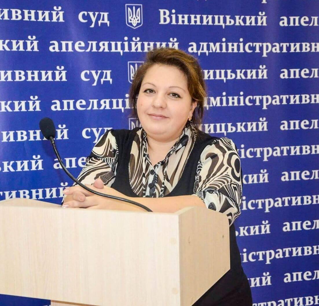 фото, Елена Панченко, судья Авдеевского городского суда Донецкой области