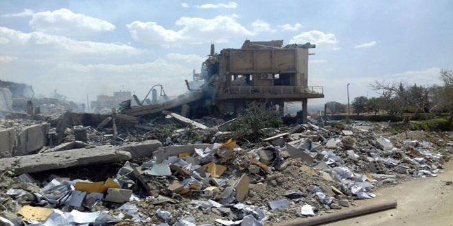 В Сирии утверждают, что разрушенный коалицией исследовательский центр за...