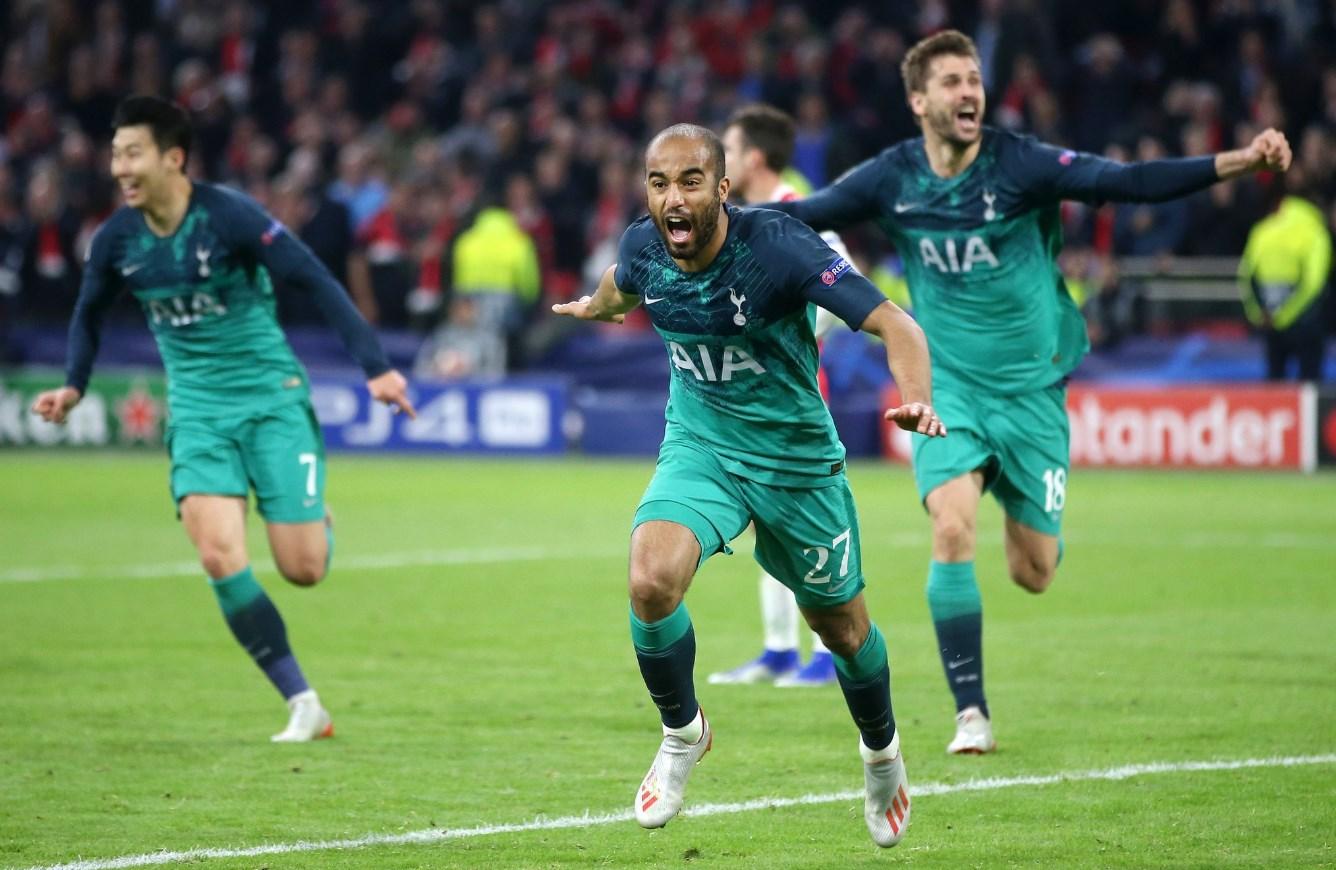 """""""Тоттенхэм"""" на последних секундах добыл путевку в Мадрид на финал Лиги Ч..."""