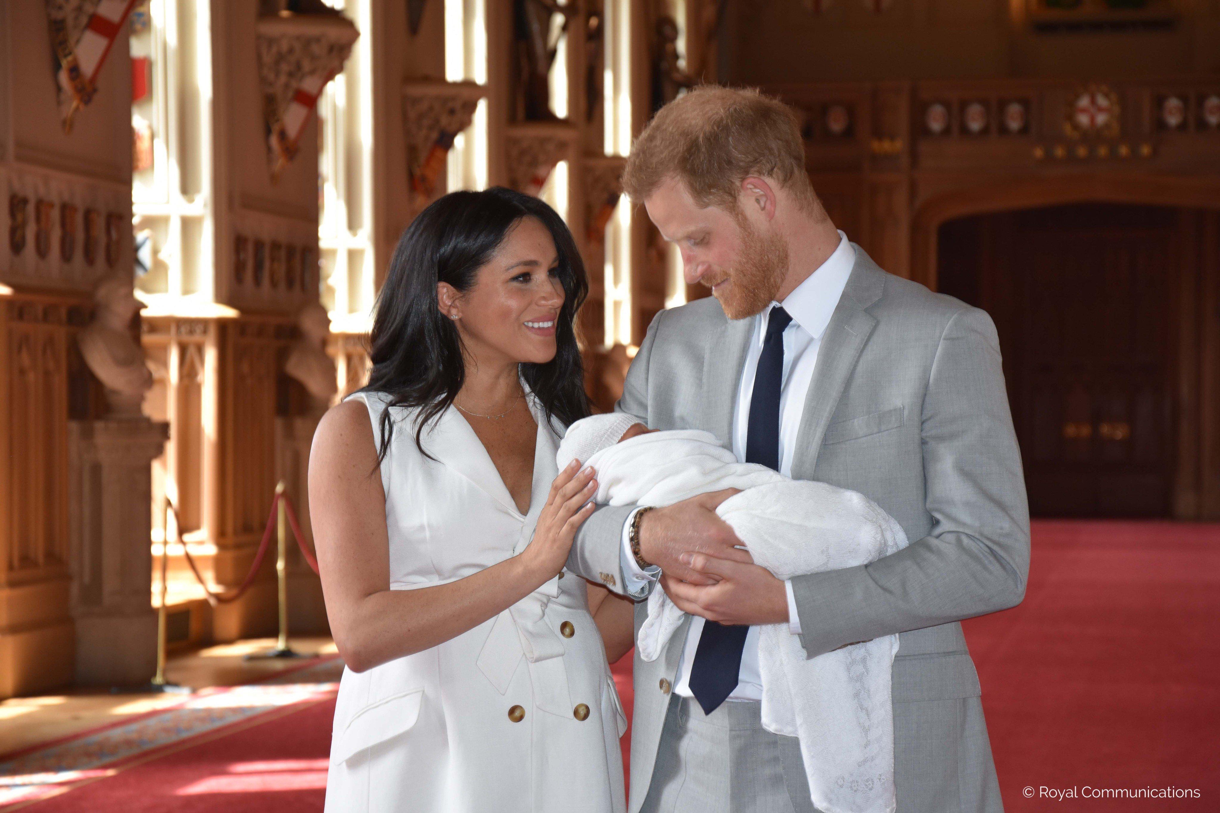 Принц Гарри и Меган Маркл огласили имя новорожденного сына