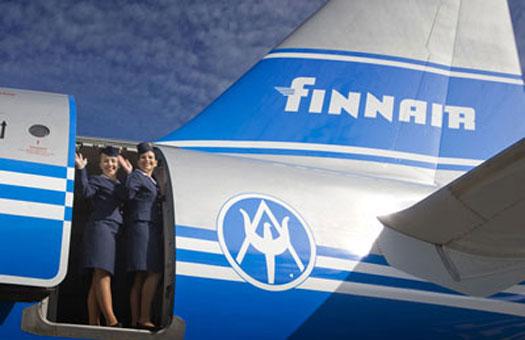 Финская авиакомпания Finnair предлагает пассажирам бесплатную пластику л...