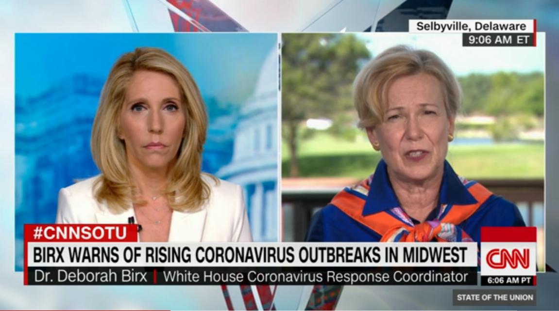 Соединенные Штаты вошли в новую фазу эпидемии COVID-19