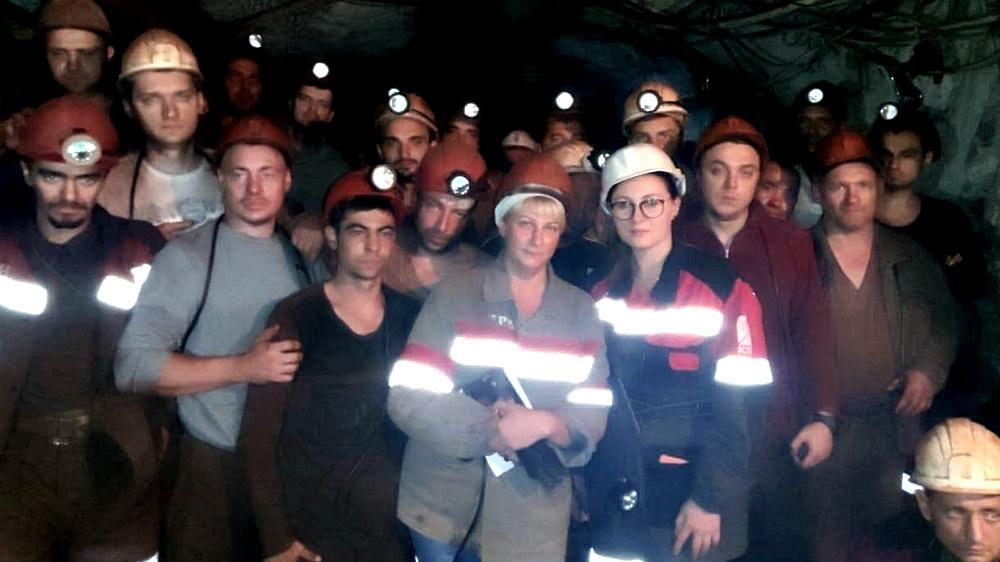 """""""Настоящая подземная война"""": шахтеры в Кривом Роге вернулись бастовать п..."""