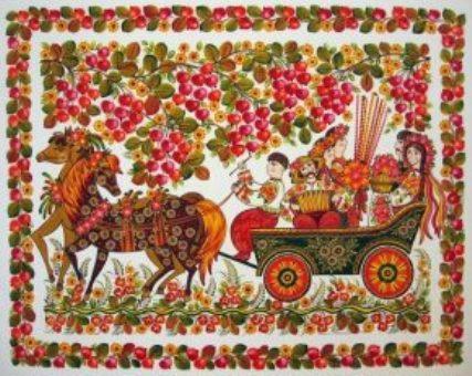 В столице покажут петриковскую роспись