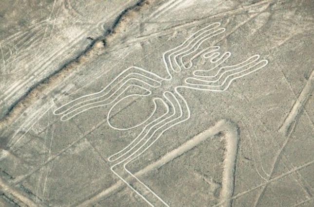 Археологи в Перу обнаружили новые геоглифы