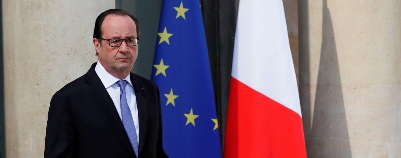 Франсуа Олланд: Минским соглашениям нет альтернатив