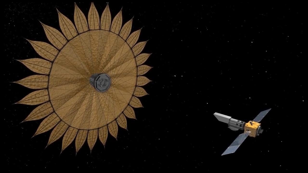 NASA хочет построить очень сложный космический телесксоп для поиска экзо...