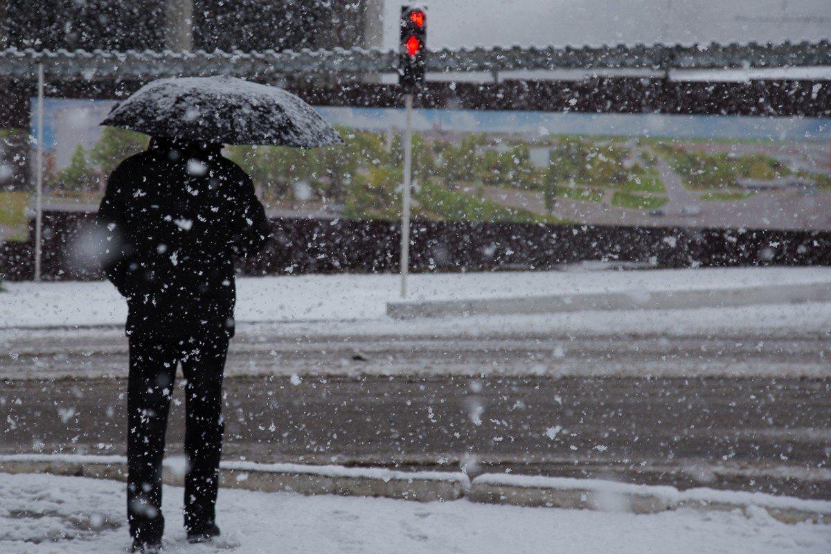 Мокрый снег и до 15 градусов тепла. Синоптики дали прогноз на ближайшие...