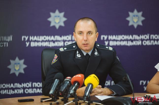 Отстраненного из-за перестрелки в Броварах главы полиции Винницы назначи...