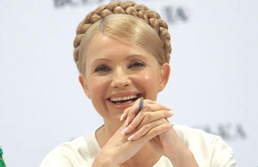 Нашей Украине не понравилось, как Тимошенко «подхихикивала» Путину