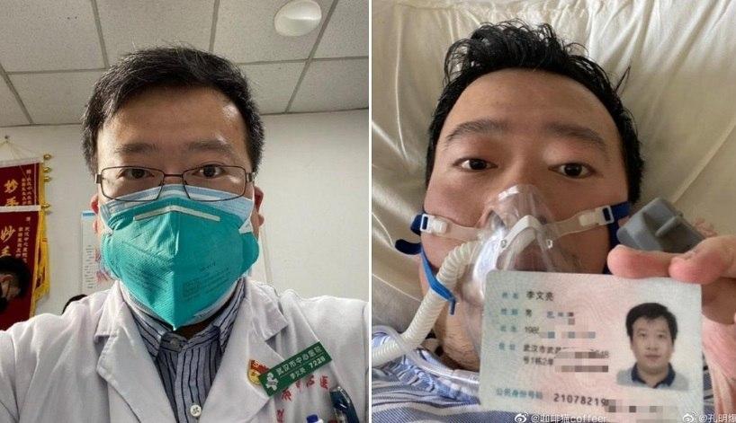 Власти Китая признали ошибкой преследование врача из Уханя, который первым сообщил о коронавирусе