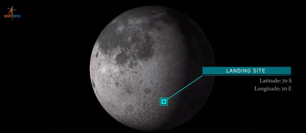 Индия попробует посадить космический аппарат на Луну