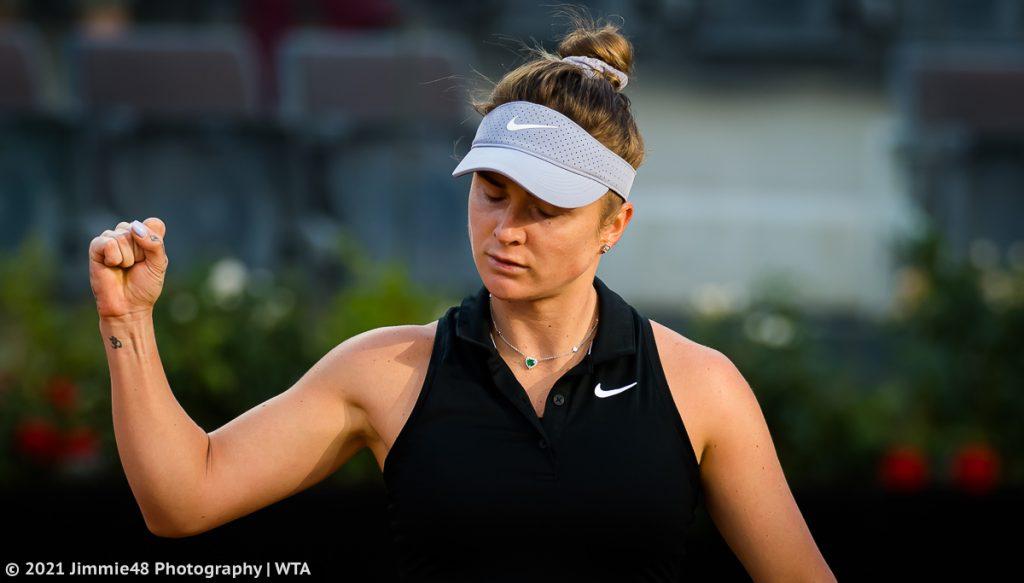 Свитолина пробилась в 1/4 финала крупного турнира WTA (видео)